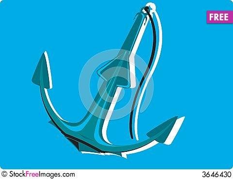 Free Anchor Stock Photo - 3646430