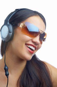 Free Headphones Royalty Free Stock Photography - 3640047