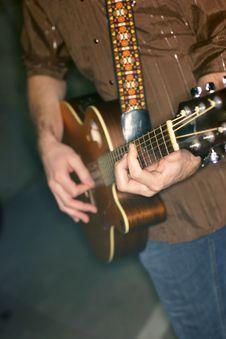 Free Guitarist Royalty Free Stock Image - 3640246