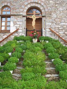 Free Monastery Evangelistria, Skiathos Stock Photos - 3640273
