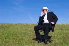 Free Happy Businessman Stock Photo - 3641080