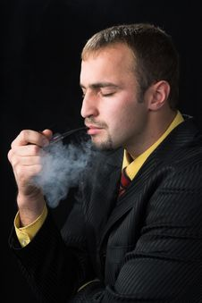Free The Smoker Stock Photo - 3641260