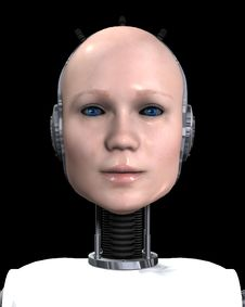 Free Robo Women 2 Royalty Free Stock Images - 3641279