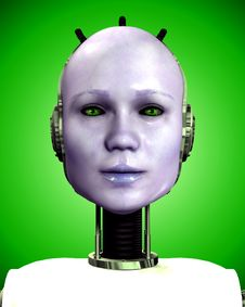 Free Robo Women 5 Stock Photography - 3641302