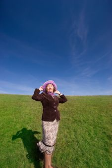 Free Happy Woman Enjoying Life :) Stock Image - 3641751