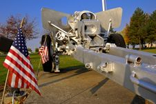 Free American Howitzer Stock Photography - 3642102