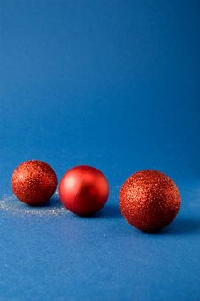 Free Christmas Globes Line Stock Photography - 3642162