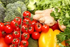Free Set Of Different Vegetables Stock Photo - 3642910