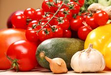 Free Set Of Different Vegetables Royalty Free Stock Image - 3642926