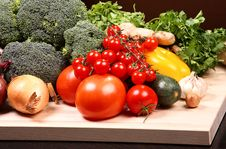 Free Set Of Different Vegetables Royalty Free Stock Photography - 3642927