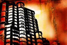 Free Grunge Buildings Stock Image - 3643501