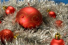 Free Red Christmas Decoration Royalty Free Stock Images - 3643619