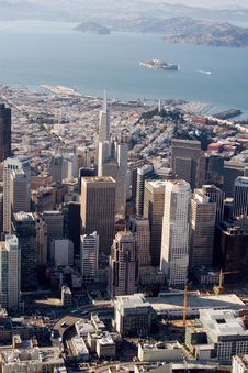 Free Downtown San Francisco, California Stock Photos - 3643633