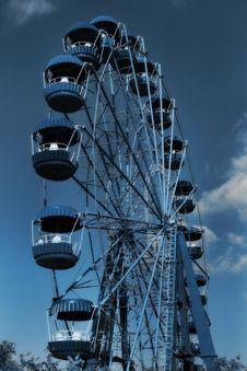 Free Big Wheel 3 Royalty Free Stock Photos - 3643748