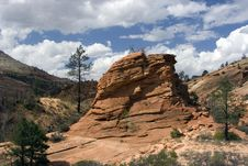 Free Zion National Park Royalty Free Stock Images - 3643989