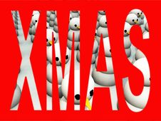 Free Army Of Snowman 5 Royalty Free Stock Photo - 3644005