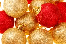 Free Christmas Tree Balls Stock Image - 3644681