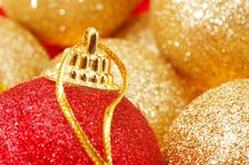 Free Christmas Tree Balls Royalty Free Stock Photo - 3644695