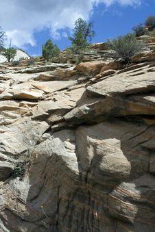 Free Zion National Park Stock Photography - 3645102