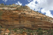 Free Zion National Park Stock Photo - 3645120