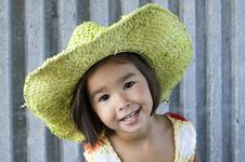 Free Girl In A Hat 02 Royalty Free Stock Photos - 3645208