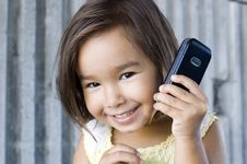 Free Girl On The Phone 04 Stock Images - 3645234