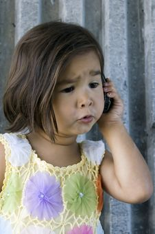 Free Girl On The Phone 01 Stock Photo - 3645290