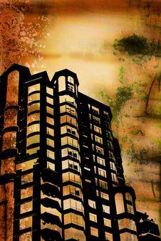 Grunge Buildings Stock Photos