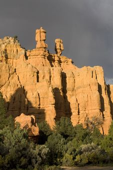 Free Zion National Park Royalty Free Stock Photos - 3645778