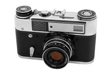 Free Vintage Photocamera Royalty Free Stock Photo - 3646015