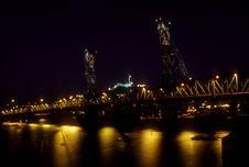 Free Hawthorne Bridge Stock Photography - 3646822