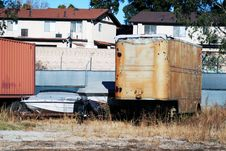 Free Trailer Trash Stock Images - 3647114