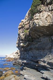 Free Cliffs At Hermanus Royalty Free Stock Photos - 3647168