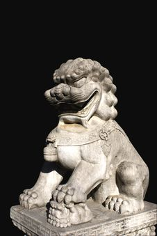 Free China Lion Sculpture Stock Photo - 3647910