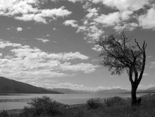 Te Anua Grey Sky Royalty Free Stock Images