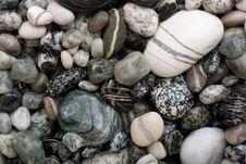 Free Black And White Pebbles. Stock Image - 3648461