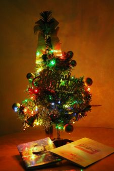 Free Artificial Christmas Tree Stock Image - 3648561