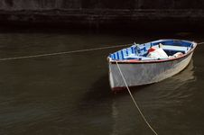 Free Boat Moored Royalty Free Stock Images - 3648679