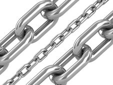 Free Steel Chain Royalty Free Stock Photos - 3648748