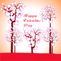 Free Man, Woman And Love Tree With Hearts On A Grass Royalty Free Stock Photos - 36403208