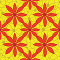 Free Seamless Bright Floral Pattern. Vector Illustratio Stock Photo - 36408870