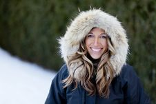 Free Woman Enjoying Winter Royalty Free Stock Photo - 36400495