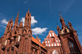 Free Beautiful Gothic Style St. Anne Church Royalty Free Stock Photo - 36415195