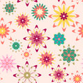 Free Summer Floral Seamless Pattern Stock Image - 36415301