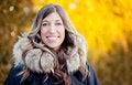 Free Woman Enjoying Winter Royalty Free Stock Images - 36416229