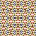 Free Seamless Geometric Pattern Royalty Free Stock Images - 36416529