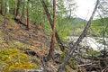 Free Rocky Precipice In Yakutia. Stock Image - 36416691