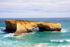 Great Ocean Road London Arch Royalty Free Stock Photos