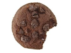 Free Little Bite Chocolate Cookies Royalty Free Stock Photo - 36411225