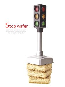 Free Stop Junk Wafer Royalty Free Stock Image - 36412096